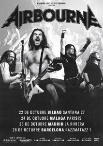 AIRBOURNE @ Sala Paris 15