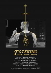 TOTE KING @ Sala Paris 15