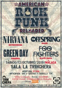 Festival tributos American Rock Punk Reloaded @ La Trinchera