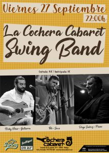 LA COCHERA SWING BAND @ La Cochera Cabaret