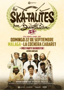 THE SKATALITES @ La Cochera Cabaret