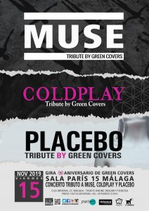 GREEN COVERS (MUSE – COLDPLAY – PLACEBO) @ Sala Paris 15