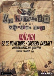 MR. KILOMBO @ La Cochera Cabaret
